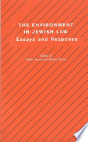 The Environment in Jewish Law