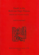 Death In The Bolivian High Plateau Book