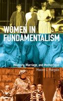 Women in Fundamentalism Book