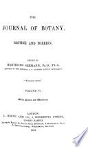 Journal of Botany  British and Foreign
