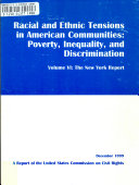 Racial and Ethnic Tensions in American Communities  The New York report