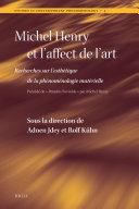 Michel Henry et l'affect de l'art