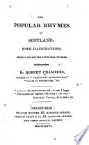 The Popular Rhymes Of Scotland