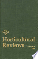 """""""Horticultural Reviews"""" by Jules Janick"""