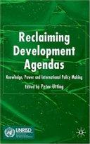 Reclaiming Development Agendas