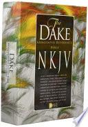 Dake NKJV Black Bonded Leather