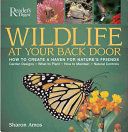 Wildlife at Your Back Door
