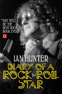 Diary of a Rock  n  Roll Star Book
