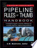 Pipeline Rules of Thumb Handbook Book
