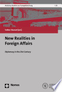 New Realities in Foreign Affairs