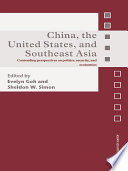 China The United States And South East Asia