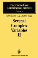 Several Complex Variables II [Pdf/ePub] eBook