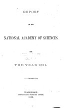 Report of the National Academy of Sciences for the Year