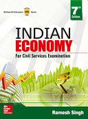 Indian Economy For Civil Services Examinations 7 E