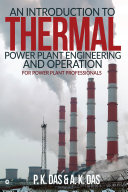 An Introduction to Thermal Power Plant Engineering and Operation Pdf/ePub eBook