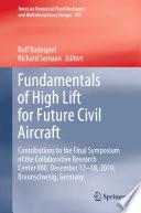 Fundamentals of High Lift for Future Civil Aircraft