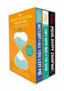 The Adam Silvera Collection Book