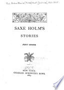 Saxe Holm S Stories