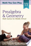 Prealgebra   Geometry Book