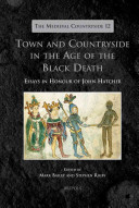 Town and Countryside in the Age of the Black Death Book