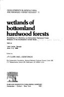Wetlands of bottomland hardwood forests