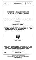 Pdf Background Material and Data on Major Programs Within the Jurisdiction of the Committee on Ways and Means