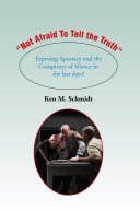 """""""Not Afraid to Tell the Truth"""""""