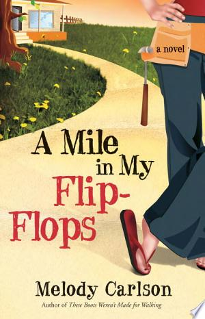 A Mile in My Flip-Flops banner backdrop