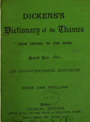 Dickens S Dictionary Of The Thames