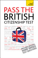 Pass the British Citizenship Test  Teach Yourself Ebook Epub