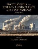 Encyclopedia of Energy Engineering and Technology   3 Volume Set  Print