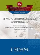 Il nuovo diritto processuale amministrativo ebook