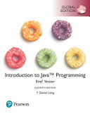 Cover of Introduction to Java Programming, Brief Version, Global Edition