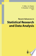 Recent Advances in Statistical Research and Data Analysis