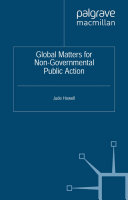 Global Matters for Non-Governmental Public Action ebook