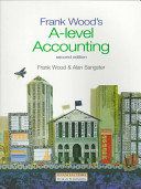 Frank Wood's A-Level Accounting Book Cover