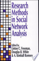 Research Methods in Social Network Analysis Book