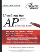 Cracking the AP Statistics  2002 2003 Edition