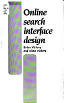 Online Search Interface Design