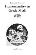 Homosexuality in Greek Myth