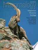 Mammalogy Book