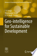 Geo intelligence for Sustainable Development Book