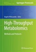 High Throughput Metabolomics