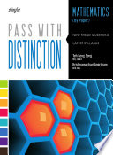 Pass With Distinction Mathematics Book 4 By Paper