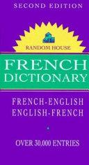 Random House French Dictionary