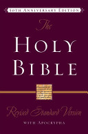 The Revised Standard Version Bible with Apocrypha