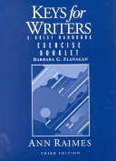 Keys for Writers Exercise Booklet