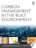 Carbon Management In The Built Environment Book PDF