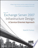 Microsoft Exchange Server 2007 Infrastructure Design Book PDF