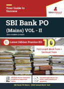 SBI Bank PO Mains VOL-II 2020 | 10 Mock Tests + 8 Sectional Tests For Complete Preparation ebook